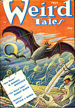 Weird Tales cover image for July 1950