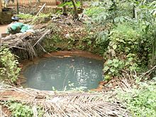 A Dug Well In A Village In Kerala, India.