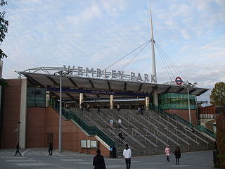 Wembley Park tube station London Underground station