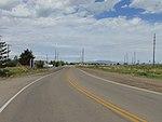 West-northwest along SR-198 from easter terminus in Spanish Fork, Utah, May 16.jpg