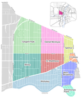 West End Map, Winnipeg, Manitoba, Canada.png