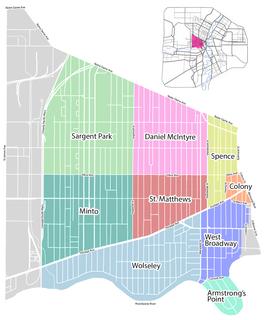 West End, Winnipeg Neighbourhood in Winnipeg, Manitoba, Canada