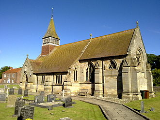 West Lutton - Image: West Lutton St. Mary's Church June 2009 (Nigel Coates)