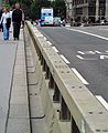 Westminster Bridge Security Crash Barrier (34309490753).jpg