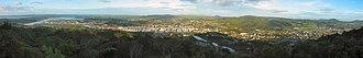 Whangarei - Panorama of Whangarei from Parihaka