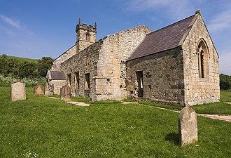 Wharram Percy - Ruin of St Martin's parish church