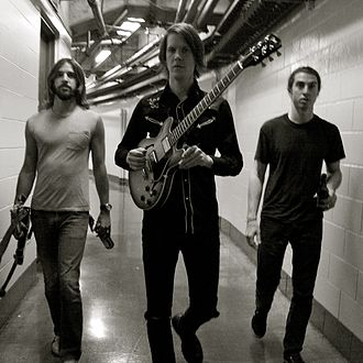 The Whigs (band) - Image: Whigs in the dark press shot