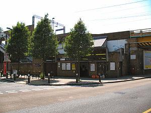White Hart Lane railway station - Image: White Hart Lane railway station in 2008
