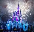 White color illumination in Magic Kingdom castle.jpg