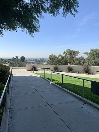 View from the Turner Residence Hall Whittier College Turner Residence Hall View.jpg