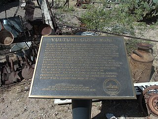 Vulture Mine ghost town