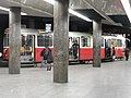 Wien - Zweistöckige Straßenbahnwendeschleife am Schottentor - Linien 37,38,40,41,42,43,44 (6267049589).jpg