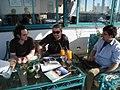 Wikimania 2008 - Wikipedia Weekly crew (2700507775).jpg