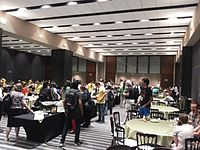 Wikimania 2015-Thursday-Food for hungry Hackathon people (20).jpg