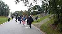 Wikimania 2019 Day 01 - Going to Aula Magna 07.jpg