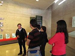 Wikimedia Chile en Museo Memoria 02.JPG