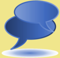 Wikiproject talk icon.png