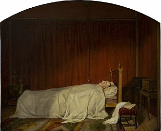 William Beckford (novelist) - William Beckford on his Deathbed by Willes Maddox.