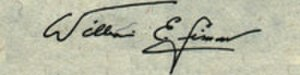 William E. Simon - Image: William E Simon sig