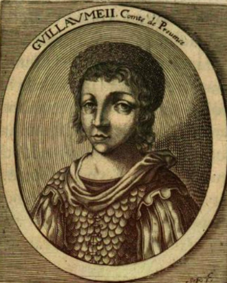William II, Count of Provence - William II of Provence (1655 engraving)