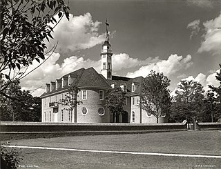 Capitol (Williamsburg, Virginia) United States historic place
