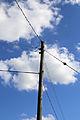Willingale, Essex, England - Miller's Green telephone pole.JPG