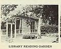Wilmette Library reading garden in the 1950s.jpg