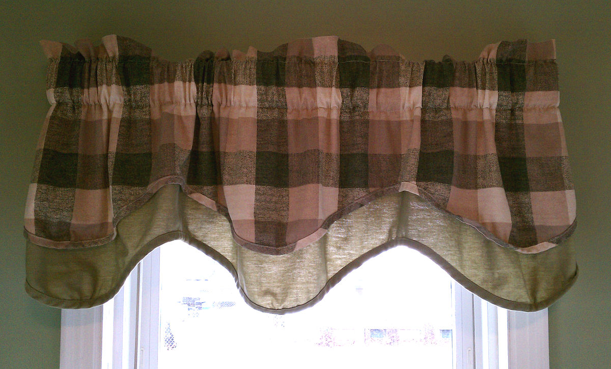 toppers com thecurtainshop valances swags valance beige window ankara
