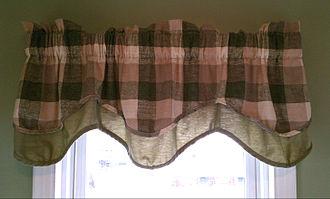 Window valance - A window valance