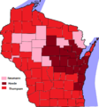 Wisconsin Republican Senatorial Primary Results, 2012.png
