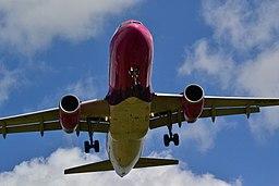 Wizz Air Ha Lpr Landing At Luton Airport (33806809)