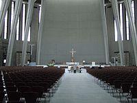 Wnętrze Świątyni Opatrzności Bożej