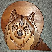 Wolf Intarsia
