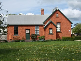 Woodend North, Victoria - The former Woodend North State School