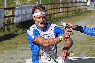 Mats Haldin orienteer