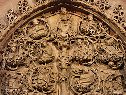 Relief of Tree of Jesse, Cathedral St. Peter, Worms, Germany