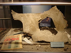 American Airlines Flight 11 - Wreckage at museum