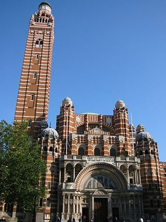Roman Catholic Diocese of Westminster - Westminster Cathedral is the mother church of the Roman Catholic Diocese of Westminster.
