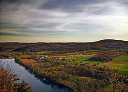 View from Wyalusing Rocks