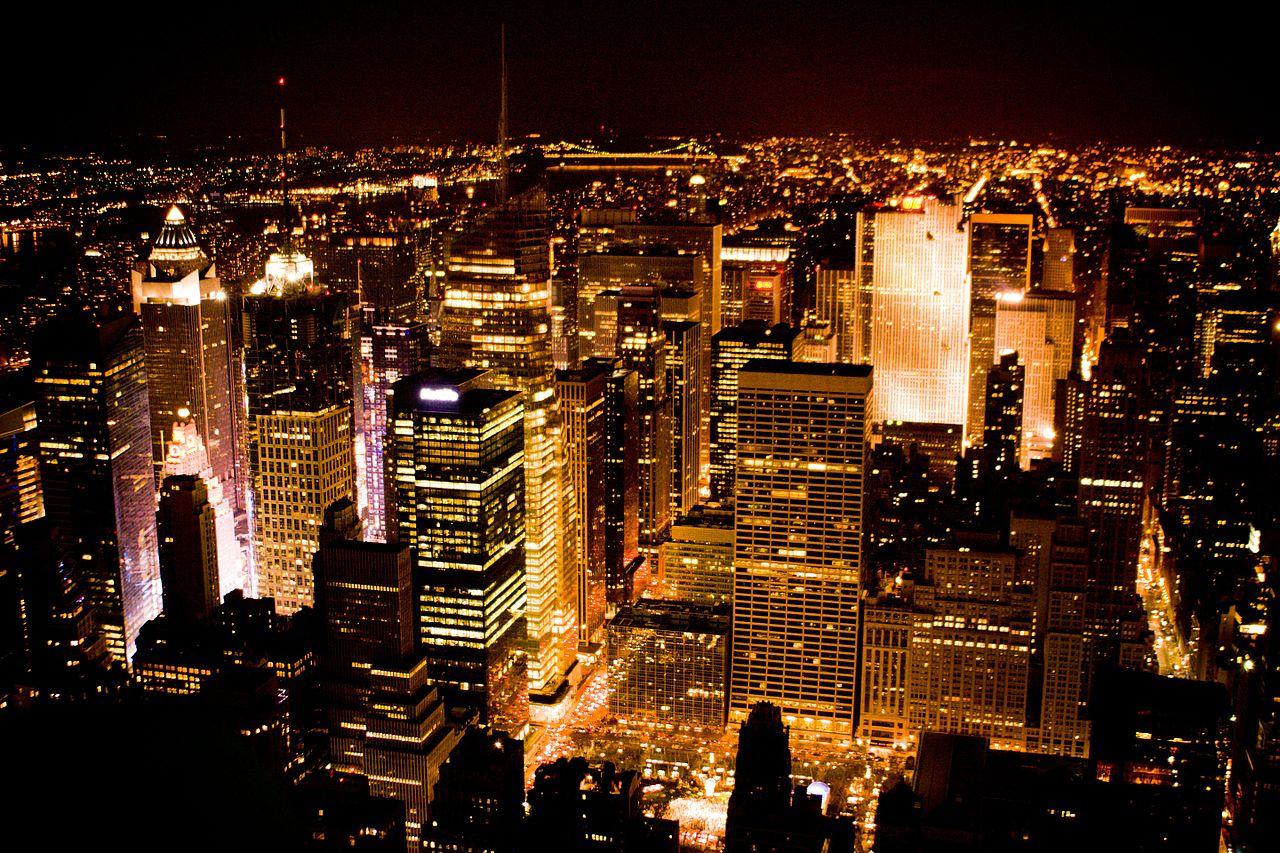 New york city xmas tree