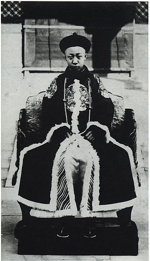 Puyi, the last emperor of China, abdicated fro...