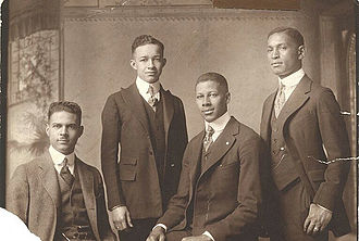 Yale Law School - Four African-American students, Class of 1921