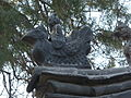 Yan Miao - Well in the Shabby Lane - roof gable detail - P1050384.JPG