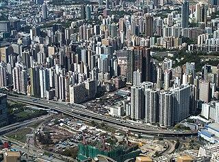 Yau Ma Tei area in the Yau Tsim Mong District, Hong Kong