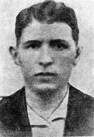 Łachwa Ghetto - Yitzhak Rochzyn (or Icchak Rokchin), leader of the Lachwa ghetto underground, commander of the uprising