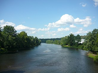Youghiogheny River - Image: Youghiogheny River at West Newton