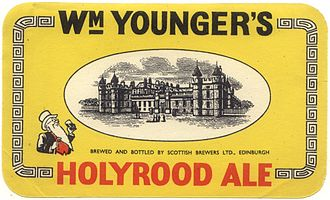 Holyrood, Edinburgh - Brewing was the main local industry in the 19th and 20th centuries.