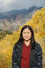 Yushan Huang (film director) in Sundance CO.jpg