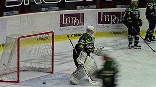Tomáš Závorka Czech ice hockey goaltender