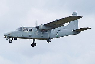 Britten-Norman Defender Military series of the BN-2 utility transport aircraft